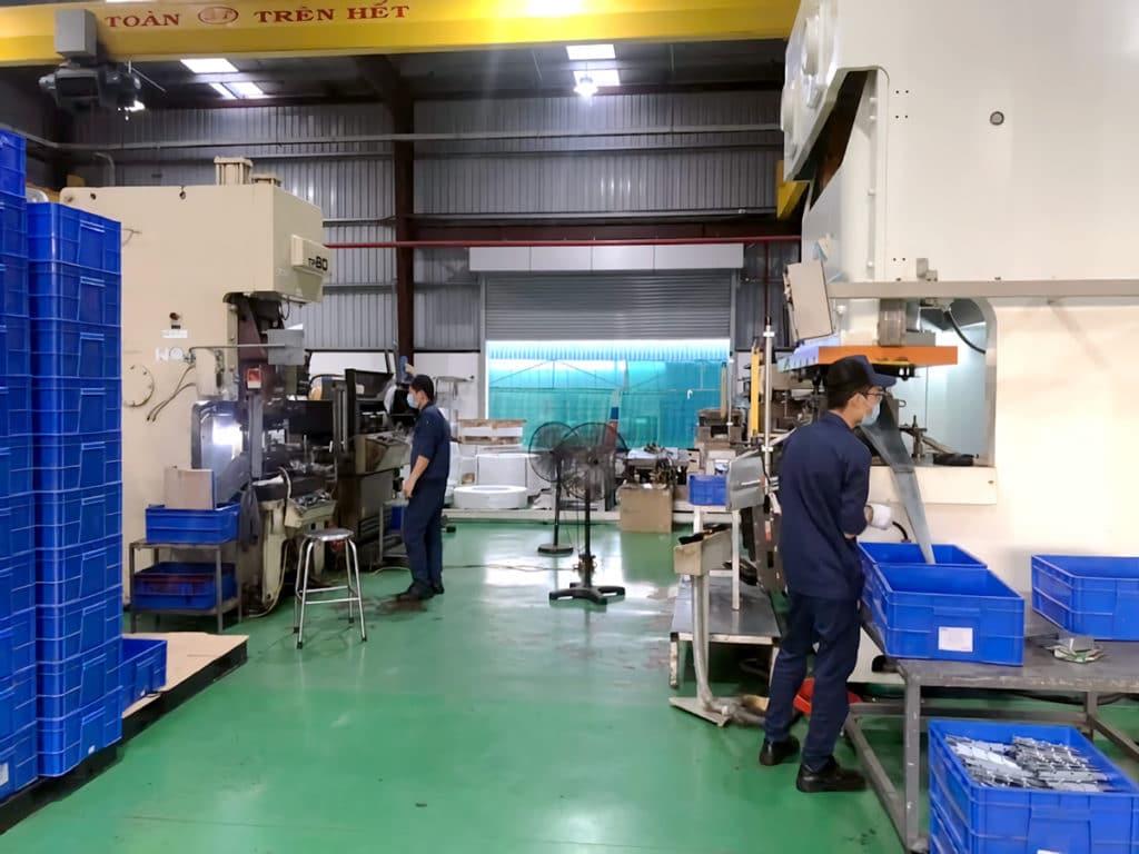 三栄ベトナム金属加工工場