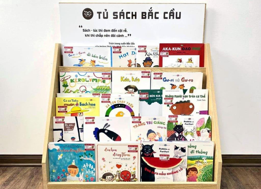 ベトナム語に翻訳・出版された日本の絵本