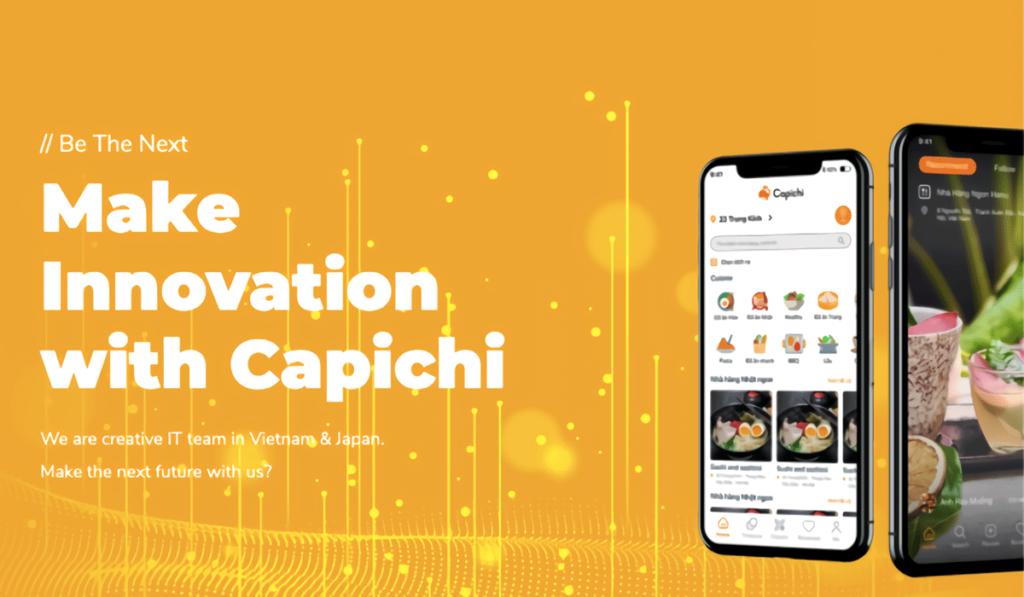 デリバリー注文アプリ「Capichi」