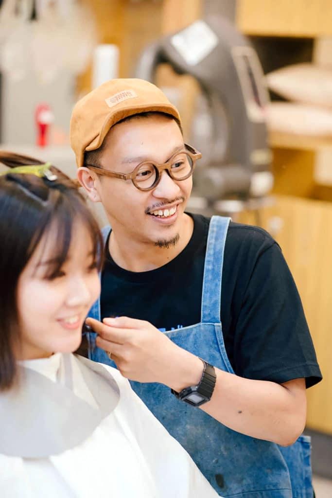 hair salon te to te./阪下正樹