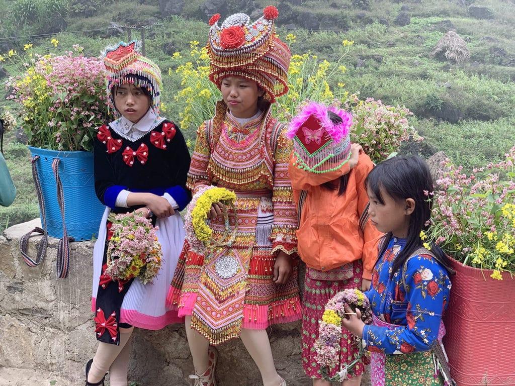 ハザン省の少数民族
